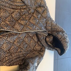 Brand new Michael Kors fall/winter cheetah coat.